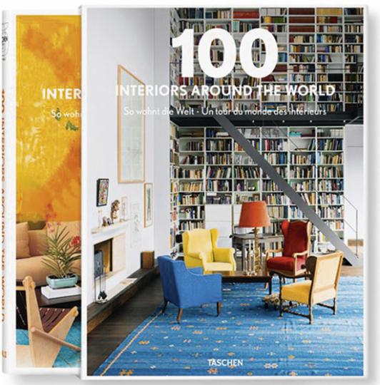 100 Interiors Around the World. 2 Bände.