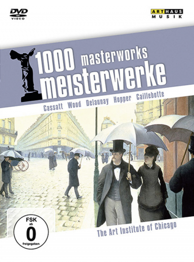 1000 Meisterwerke.The Art Institute of Chicago. DVD.