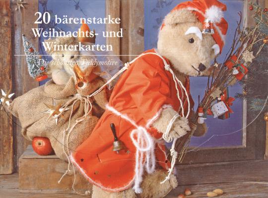 20 bärenstarke Weihnachtskarten.