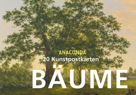 20 Kunstpostkarten Bäume