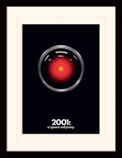 2001: A Space Odyssey. HAL.
