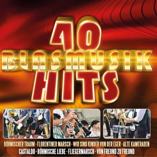 40 Blasmusik-Hits 2 CDs