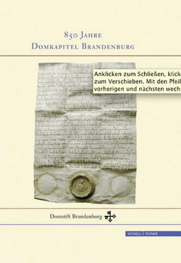 850 Jahre Domkapitel Brandenburg.