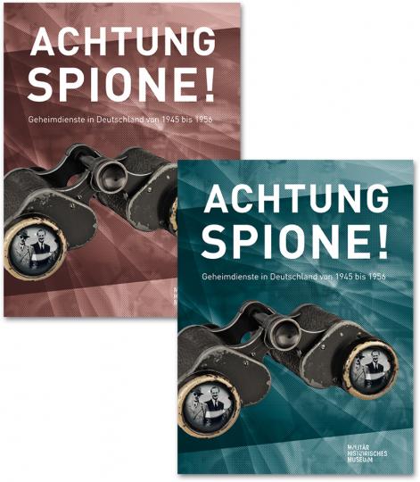 Achtung Spione! 2 Bände. Katalog und Essayband.