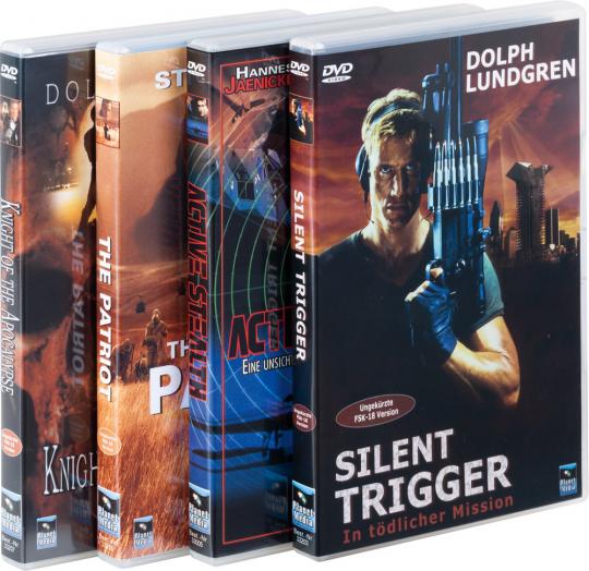 Action-Paket Film Paket 4 DVDs