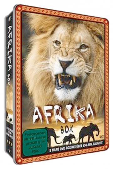 Afrika Box. 2 DVDs.