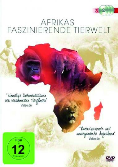 Afrikas faszinierende Tierwelt. 3 DVDs.