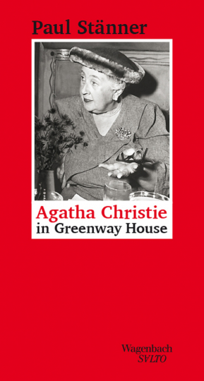 Agatha Christie in Greenway House.