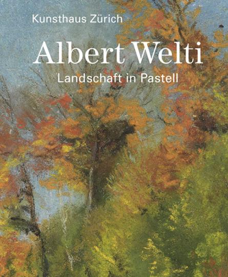 Albert Welti. Landschaft in Pastell.