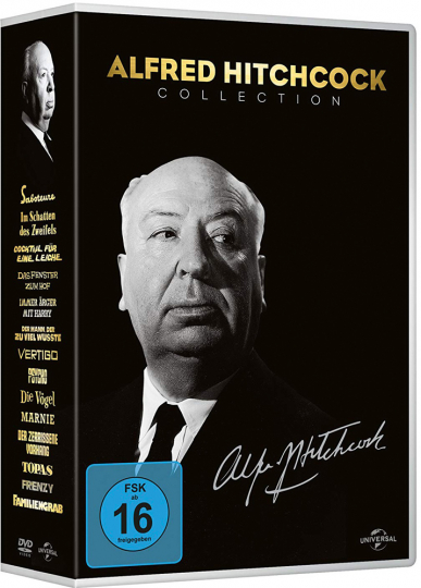 Alfred Hitchcock Collection. 14-DVD-Box.