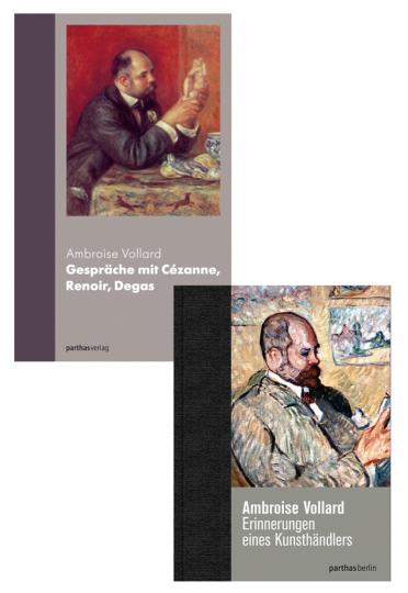 Ambroise Vollard. Erinnerungen eines Kunsthändlers & Gespräche mit Cézanne, Renoir, Degas. 2 Bände im Set.