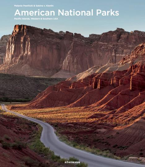 Amerikanische Nationalparks. Pazifische Inseln, West- und Süd-USA.