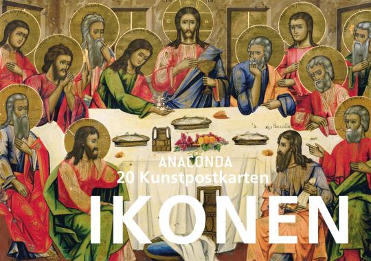 Anaconda Postkartenbuch »Ikonen«. 20 Kunstpostkarten.