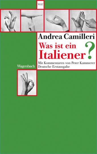 Andrea Camilleri. Was ist ein Italiener?