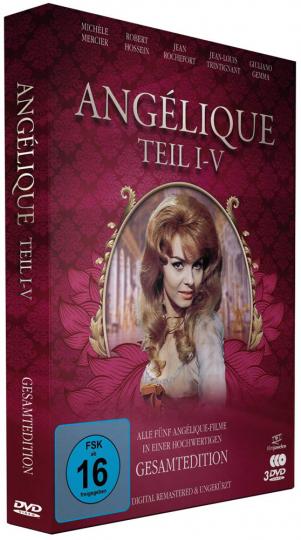 Angélique (Gesamtedition). 3 DVDs.