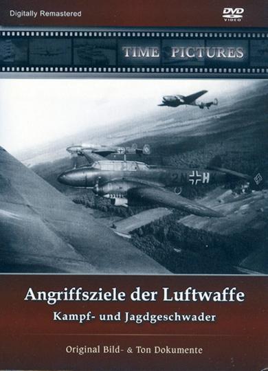 Angriffsziele der Luftwaffe - Kampf- und Jagdgeschwader DVD