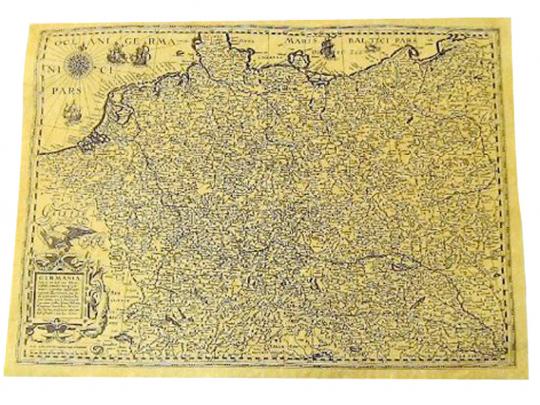 Antica Karte: Germania um 1602