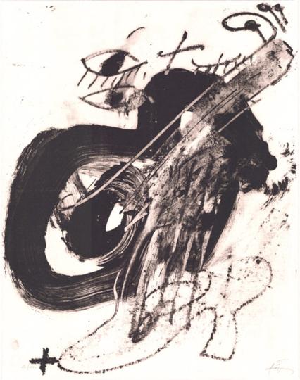 Antoni Tàpies. »Messiaen«, 1986.