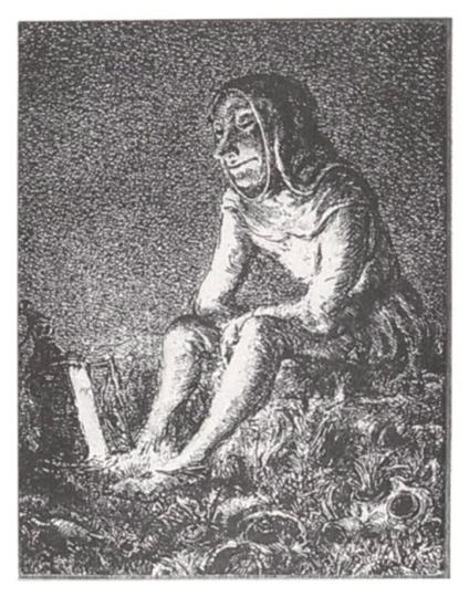 A. Paul Weber. Die alte Laterne II.