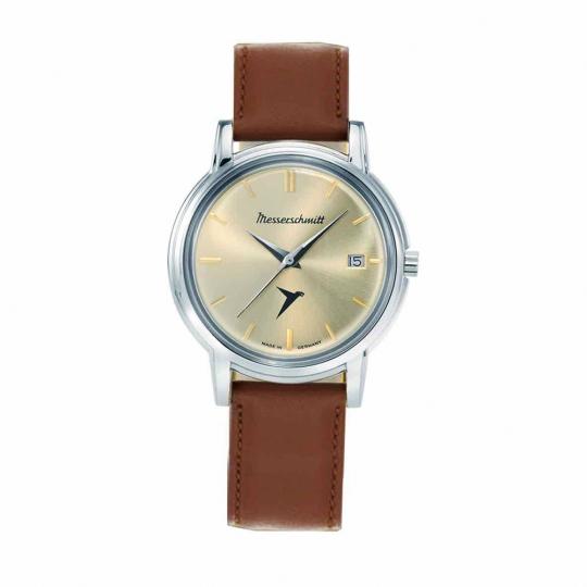 Armbanduhr Messerschmitt »KR 200«, braun.