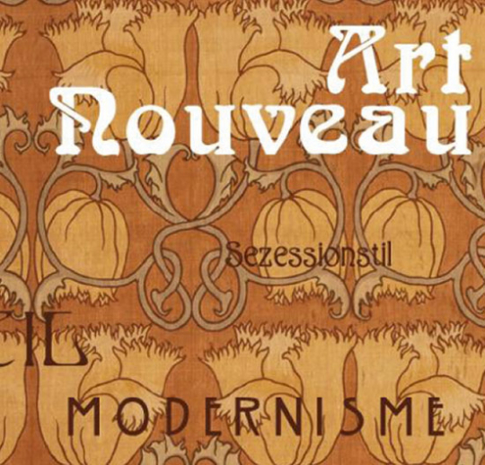 Art Nouveau. Sezessionsstil. Modernisme.