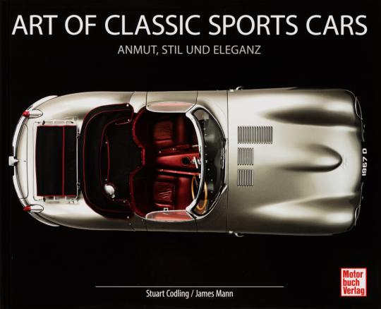 Art of Classic Sports Cars. Anmut, Stil und Eleganz.