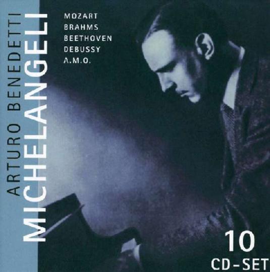 Arturo Benedetti Michelangeli, 10 CDs