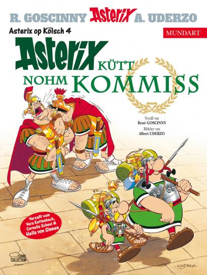 Asterix Mundart Kölsch IV. Asterix kütt nohm Kommiss.
