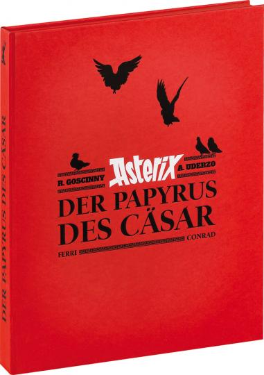 Asterix. Der Papyrus des Cäsar - Art Book. Limitierte Luxusausgabe im Schuber.