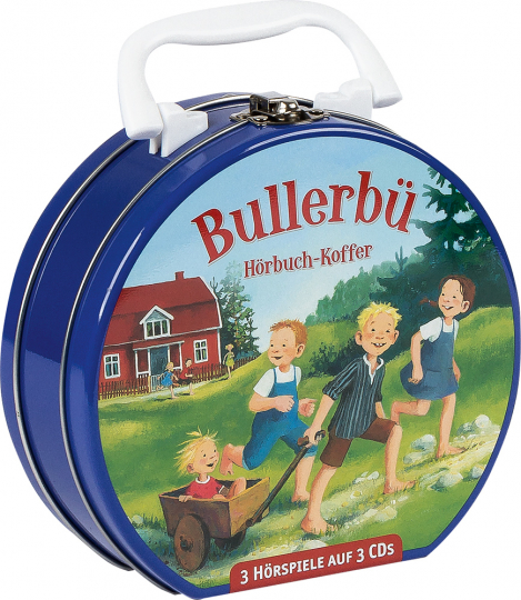 Astrid Lindgren. Bullerbü. Hörspiele. Hörbuchkoffer mit 3 CDs.