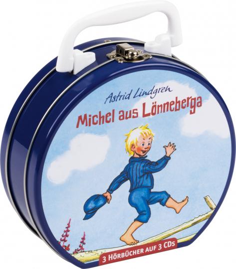 Astrid Lindgren. Michel aus Lönneberga. Hörbuchkoffer mit 3 CDs.