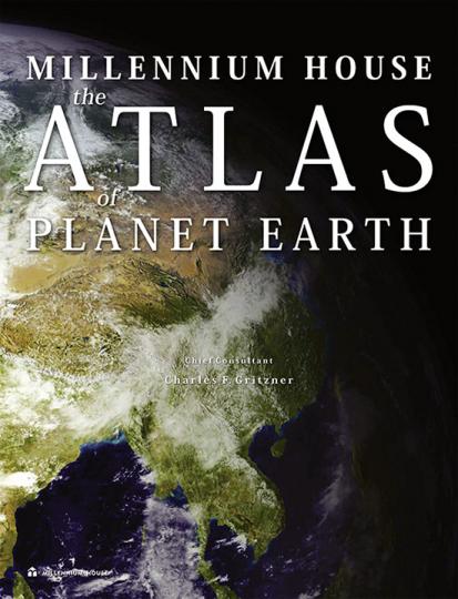 Atlas des Planeten Erde.