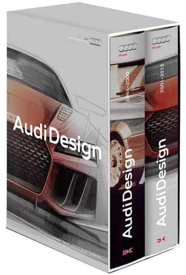 Audi Design. Zwischen Evolution und Revolution. 2 Bde.
