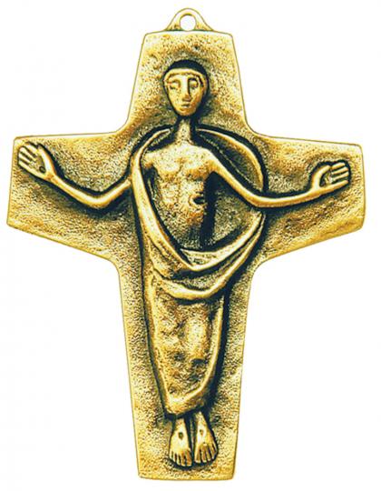 Auferstehungskreuz - Bronze