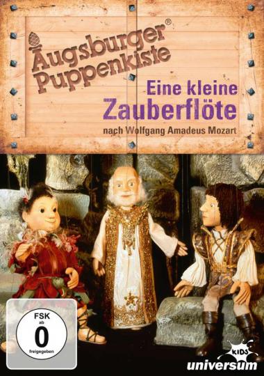 Augsburger Puppenkiste: Eine kleine Zauberflöte. DVD.