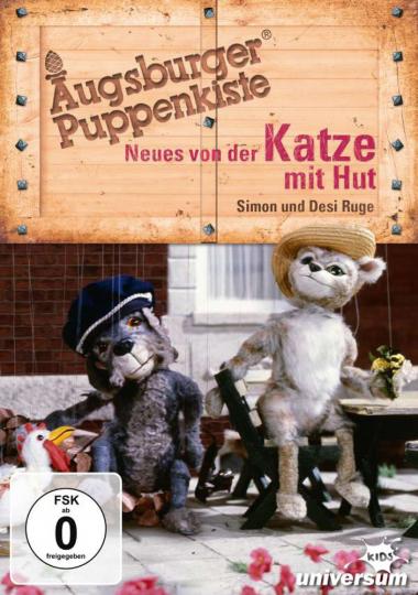Augsburger Puppenkiste: Neues von der Katze mit Hut. DVD.