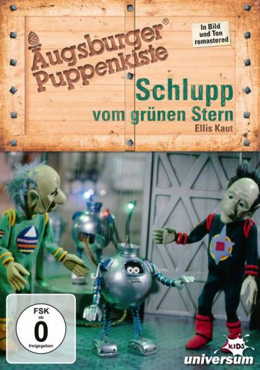 Augsburger Puppenkiste. Schlupp vom grünen Stern. DVD.