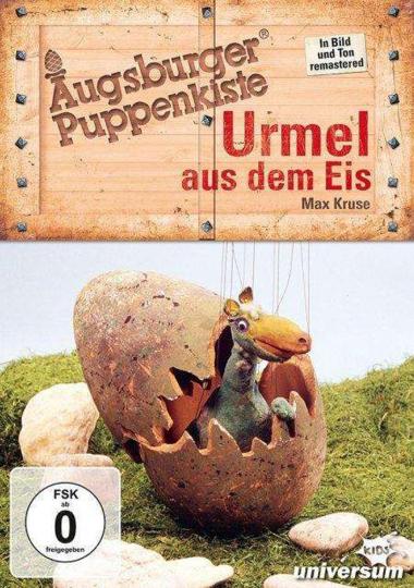 Augsburger Puppenkiste. Urmel aus dem Eis. DVD.