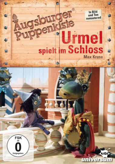 Augsburger Puppenkiste. Urmel spielt im Schloss. DVD.