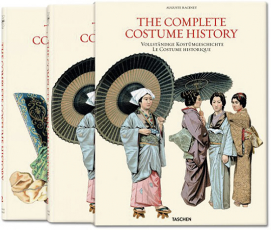 Auguste Racinet. Vollständige Kostümgeschichte - The Costume History.