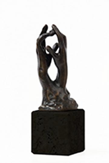 Auguste Rodin »Das Geheimnis«, um 1908.