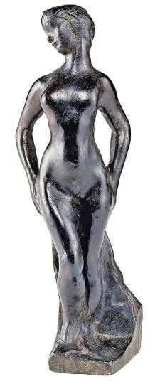 Auguste Rodin. Pomona. Replik Bronze.