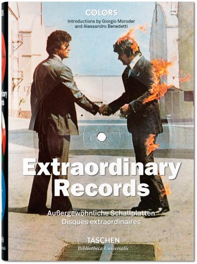 Außergewöhnliche Schallplatten.