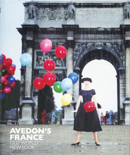 Avedon's France. Old World, New Look.