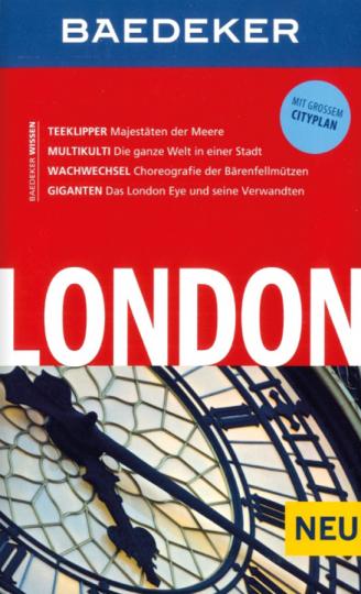 Baedeker Reiseführer London. Mit großem Cityplan.