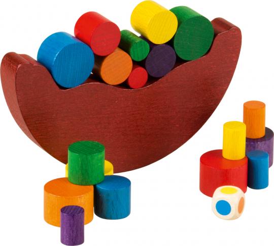 Balancespiel »Wippe« für kleine Kinder.