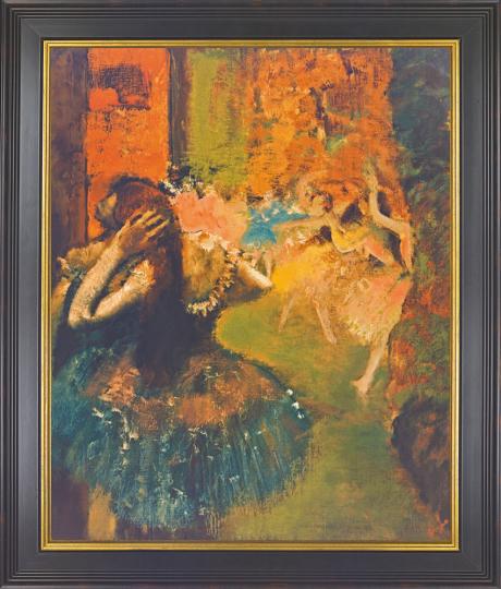 Ballett-Szene um 1885. Edgar Degas (1834-1917).