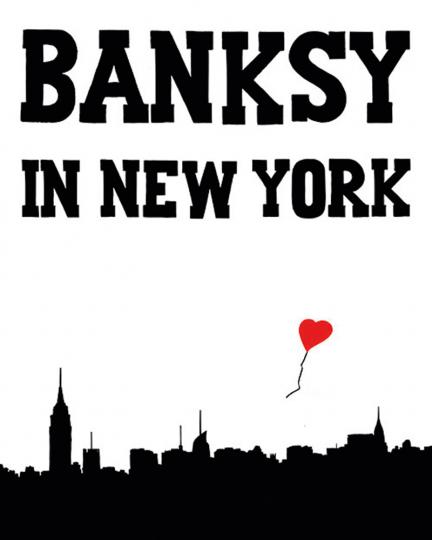 Banksy in New York.