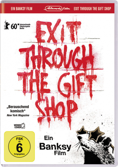 Banksy - Exit Through The Gift Shop. DVD.