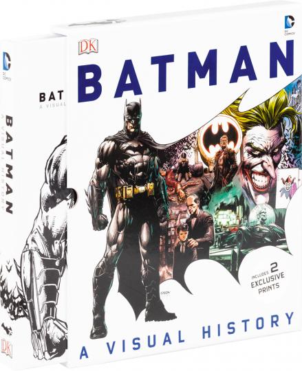 Batman. Eine Geschichte in Bildern. A Visual History.